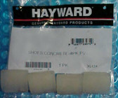Hayward Pool Vac Shoe Set - Clear for concrete