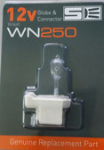 Spa Electrics WN Series Globe and Connector Set- 12v 100w