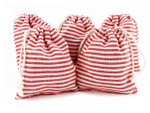 Cotton Bags - Red Stripe
