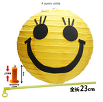 Smiley Face Lantern 20cm (DIY with light)