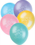 "12"" Baby Shower Balloon"