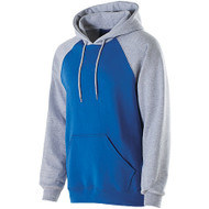 Royal/Athletic Heather - Holloway Banner Hoodie #229179