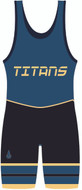 WarriorSport Custom Sublimated Singlet Template 1524