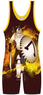 Sublimated Spartan Stock Singlet by WarriorSport - front view