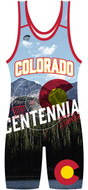 WarriorSport Colorado State Sublimated Singlet.