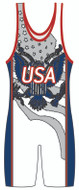 WarriorSport Eagle Stock Sublimated Singlet