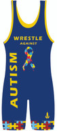Warrior Sport Battle Autism Wrestling Singlet