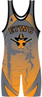 WarriorSport Sublimated Singlet Template WS1552 Tempest