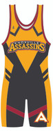 The Assassin Sublimated Custom Singlet by WarriorSport Team Wear