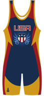 WarriorSport Freedom Stock Sublimated Singlet