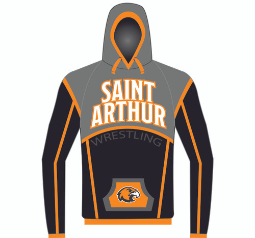 WarriorSport's Custom Sublimated Hoodie WS1250