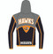 WarriorSport's Custom Sublimated Hoodie WS1250 back view