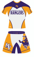 Ranger Alternate Uniform Template Front View