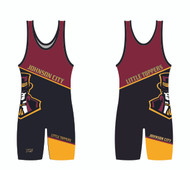 Little Toppers Custom Sublimated Singlet
