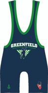 WarriorSport Custom Singlet for Greenfield Academy Free Style Team Front View