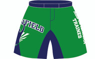 WarriorSport Sublimated Fight Shorts for Greenfield Wrestling Academy