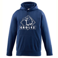 Augusta - Wicking Fleece Hooded Sweatshirt - #5505