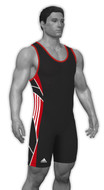 Sublimated Adidas aS108c-02-03 Custom CLIMALITE Sublimated Singlet