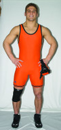Solid Color-Contrasting Trim Cliff Keen Collegiate Compression Gear Stock Singlet