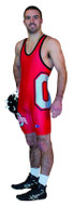 Sublimated Cliff Keen S794324 Custom Singlet Side wrap logo