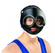 Black - Cliff Keen FG3 Face Guard with Chin Strap