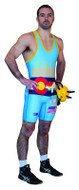 Sublimated Cliff Keen S7943J High Cut Custom Sublimated Singlet