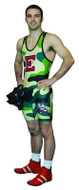 Sublimated Cliff Keen S794335 Sublimated 4 Color Camo Custom Singlet