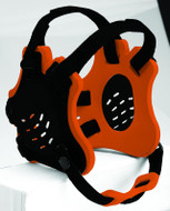 Black - Orange - Black Cliff Keen #F5 Tornado Earguard