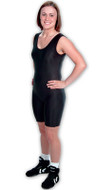 Solid Color Matman #86 Women's Lycra Stock Singlet