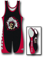 Sublimated Matman #232 Side Flare Custom Singlet