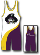 Sublimated Matman #272 The Comet Custom Singlet