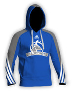 Sublimated Blue Adidas Hoodie aA400hs