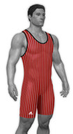 Adidas - Pinstripe Custom Sublimated Climalite Lycra Singlet - aS108c-01-18