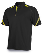 Black/Gold Tonix Endzone Polo Shirt #1450