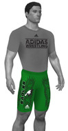 Adidas - Custom Sublimated Compression Shorts - #aA308c-04- Total Custom With Your Design- To order Call WrestlerSupply at 1-855-343-5151