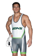 Cliff Keen Custom Sublimated Singlet S794346