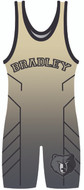 WarriorSport Custom Sublimated Singlet Template 1512 in Vegas Gold