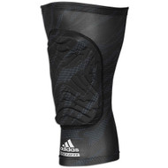 Black - Adidas aK101 adiPOWER Padded Leg Sleeve