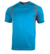 Columbia/Graphite Tonix Achiever Performance Tee Shirt #1545