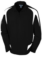Black/White - Tonix Titan 1/4 Zip Jacket #1280