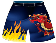 Fight Shorts Custom Sublimated WarriorSport #1401
