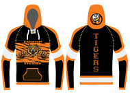 Sublimated Custom Hoodie WarriorSport Wrestling #1203