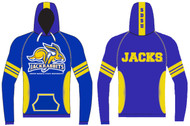 Custom Sublimated Team Hoodie WarriorSport #1207