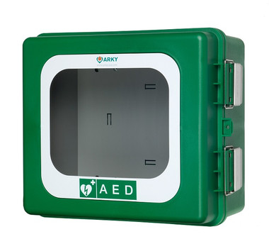 ARKY Outdoor AED Cabinet with Inlay & Alarm