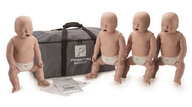 Prestan Professional Training Manikins Infant with CPR Monitor (Pk4)