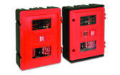 Double extinguisher cabinet - 2 x 9kg / 9l
