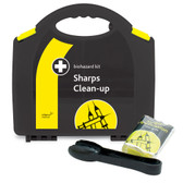 Biohazard Sharps Clean-Up Kit in Integral Aura BOX