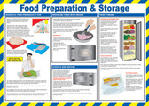 Food Preperation & Storage Poster