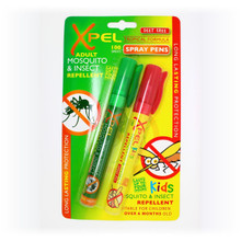 Xpel Adult Kids Mosquito Insect Repellent Pens Travel Set