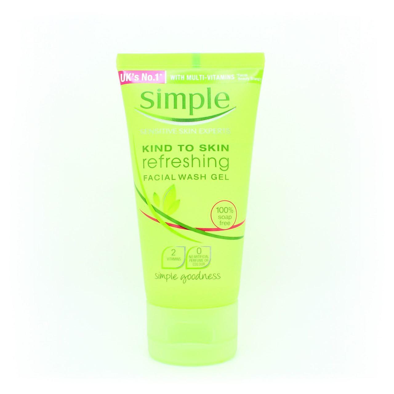 Lines! simple facial wash gel always
